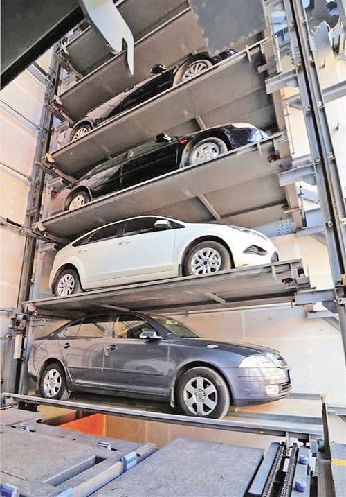 立体停车加速 大连鼓励用城市空地建机械式停车设备