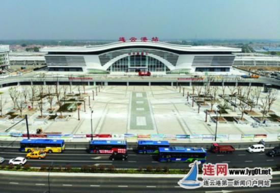 连云港火车站月底竣工 北上铁路通道年底贯通