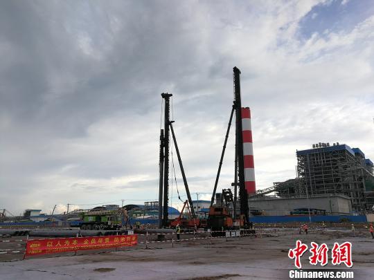 中国企业承建越南沿海二期燃煤电厂开工