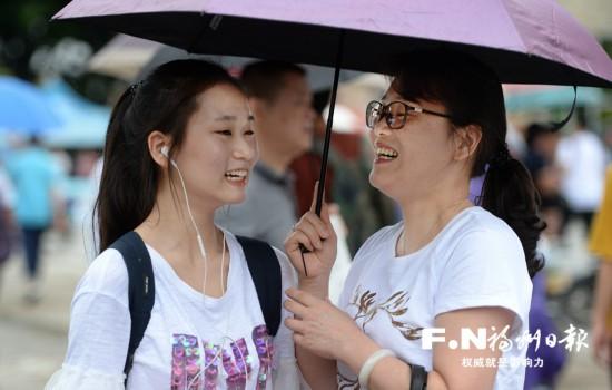 高考启幕福州3.2万考生奔赴考场 一城守护一城温暖