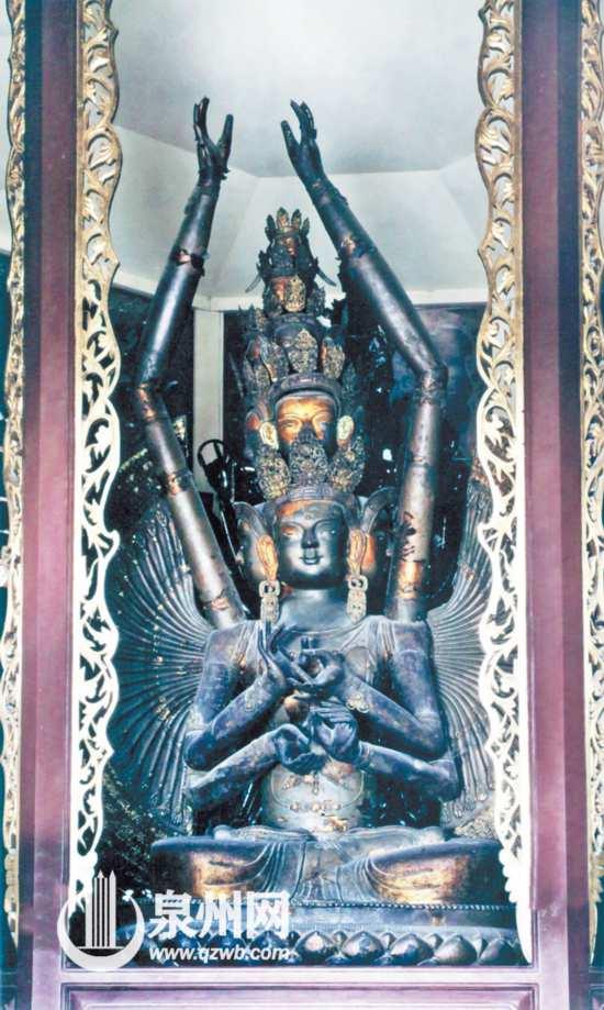 承天寺十一面观音菩萨造像