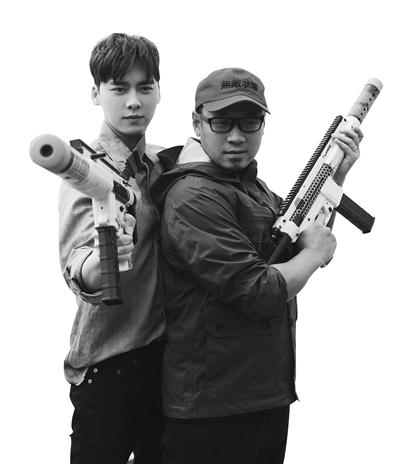 """《动物世界》首映发布会 韩延:和李易峰合作很""""对路子"""""""