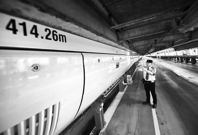 世界最长高铁下月北京发车 初期京沪间每天开行6趟