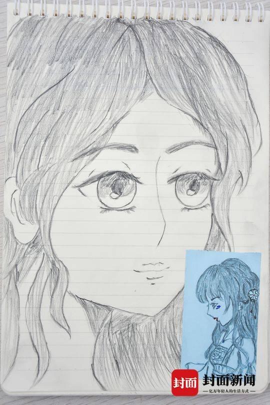 17岁大学患病梦想头像考海边的卡通四川省医女生女孩萌先天图片