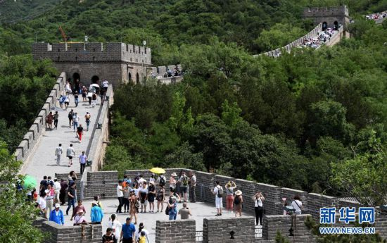 (社会)(4)北京八达岭长城进入旅游旺季