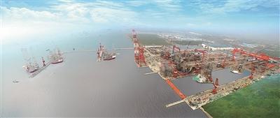 南通海门沿江崛起先进装备制造产业群