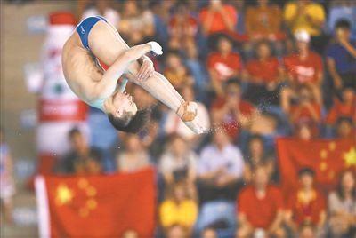 霸气!中国跳水队包揽世界杯11金