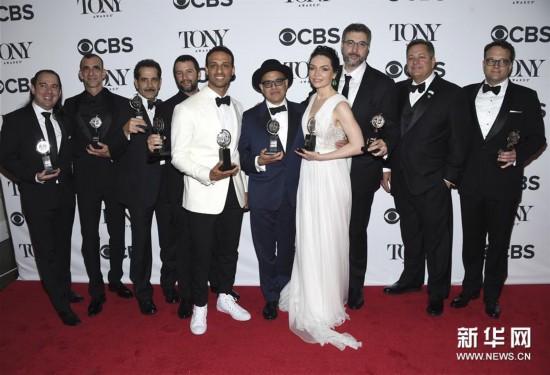 第72届托尼奖揭晓 音乐剧《乐队造访》成最大赢家
