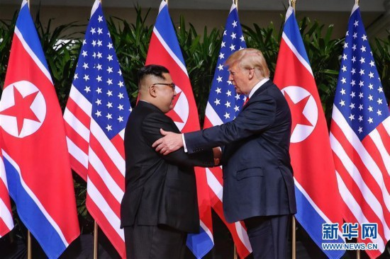 朝美领导人会晤图片 75122 550x366