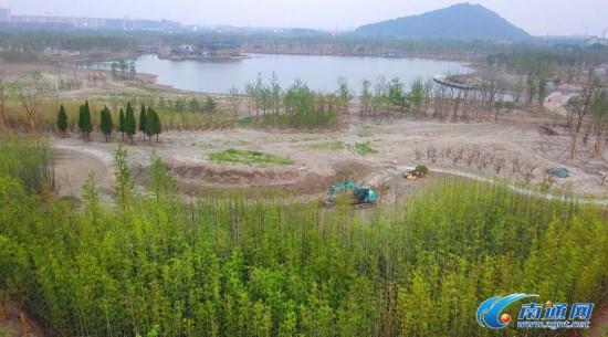 南通植物园初见雏形 计划于今年9月底基本建成