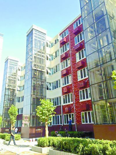 北京莲花池4栋老楼装电梯平层入户