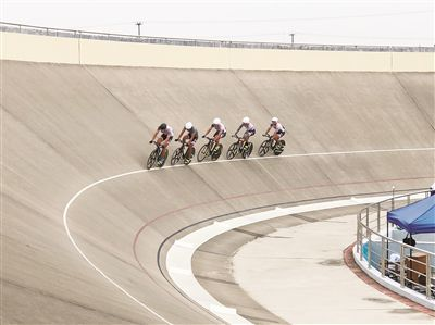 江苏省运会青少年自行车场地赛在海门举行
