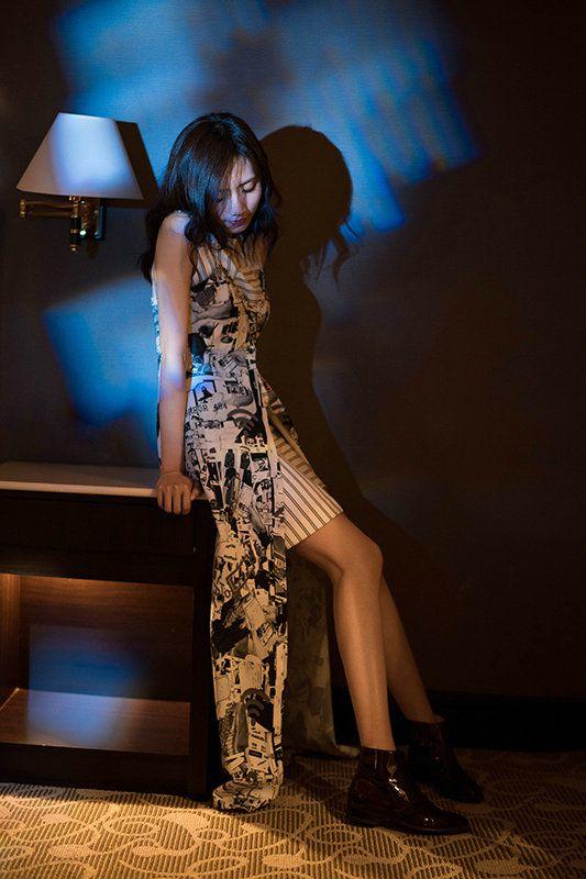 刘惜君迷幻风格写真曝光 复古时尚展现独特魅力