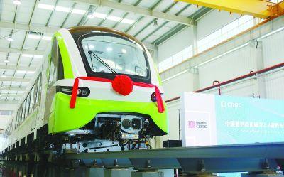 时速160公里!中国首列2.0版商用磁浮列车下线