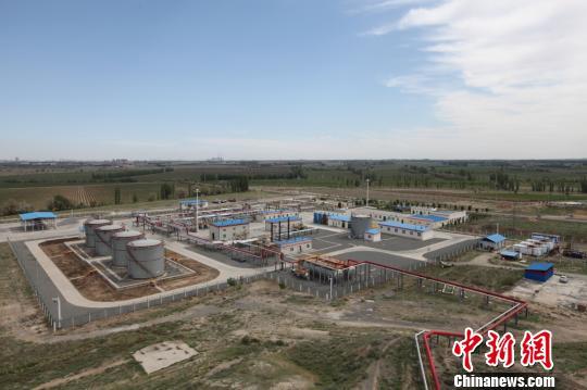 新疆油田采气一厂玛河气田累产天然气突破80亿立方米