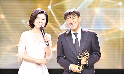何冰马伊�P分获上海电视节最佳男女主角奖