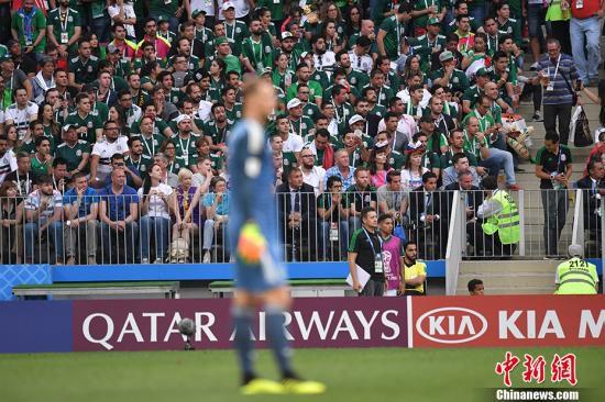 德国队本届世界杯首战爆冷,以0-1负于墨西哥。 <a target='_blank'  data-cke-saved-href='http://www.chinanews.com/' href='http://www.chinanews.com/'><p  align=