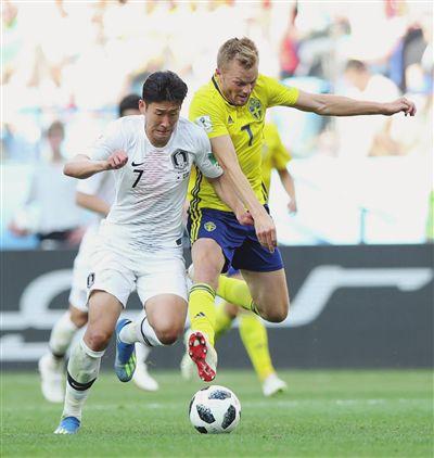 只有一个孙兴慜 无法让韩国队小组出线