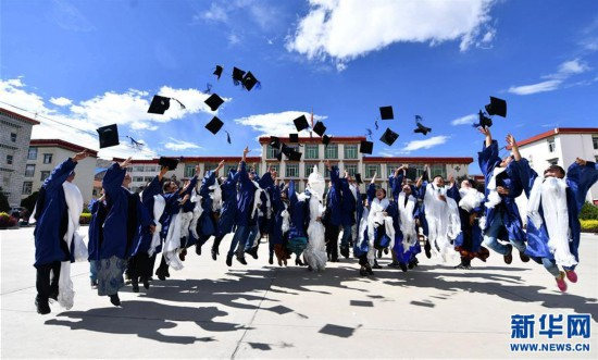 (图文互动)(1)10名藏医学子首次被授予临床医学硕士学位