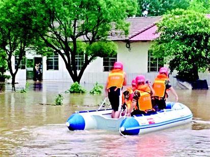 梅雨首秀暴雨开场 本轮强降雨中心在宜昌当阳