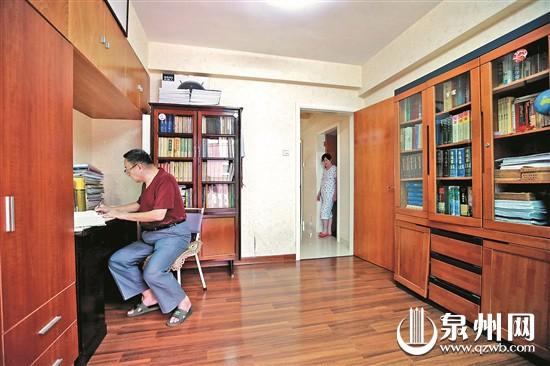 看看改革开放40年来泉州百姓家中书房的变化