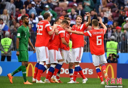 """小组赛首轮惊喜多 俄罗斯世界杯成""""纪录粉碎机"""""""