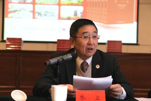 中國僑聯副主席喬衛講話