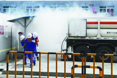 南京举行特种设备安全演练 提升应急处置能力
