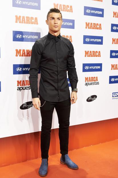 10张图看懂C罗的时尚风格他可是足球界小贝之后的潮流风向标