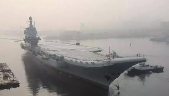 首次海试项目全完成国产航母预计年底交付海军