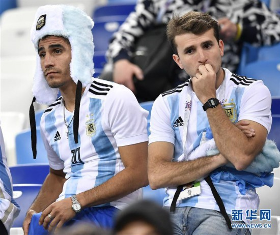 (世界杯)(10)足球――D组:克罗地亚队击败阿根廷队