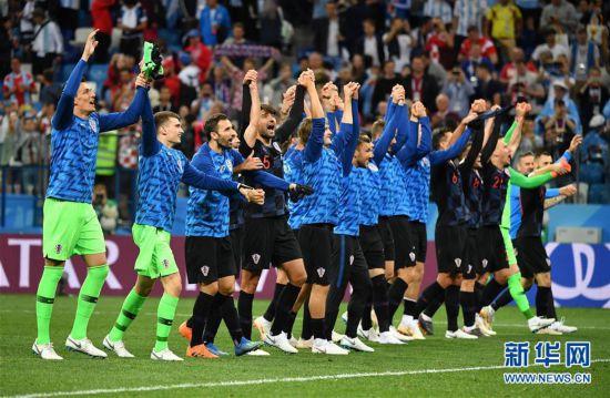 (世界杯)(12)足球――D组:克罗地亚队击败阿根廷队