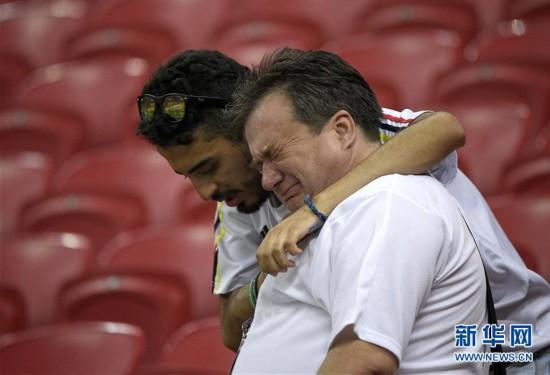 (世界杯)(21)足球――H组:哥伦比亚队胜波兰队