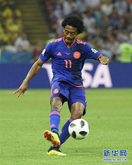 (世界杯)(12)足球――H组:哥伦比亚队胜波兰队