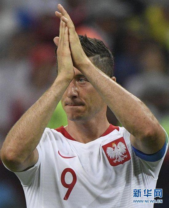(世界杯)(24)足球――H组:哥伦比亚队胜波兰队