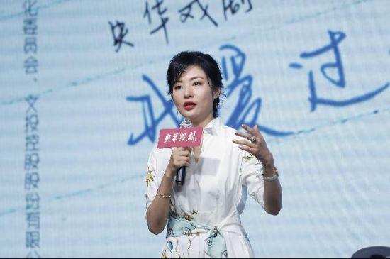 话剧《情书》主演周涛在北京分享巡演感受