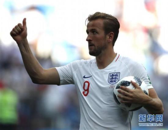 (世界杯)(22)足球――G组:英格兰队胜巴拿马队