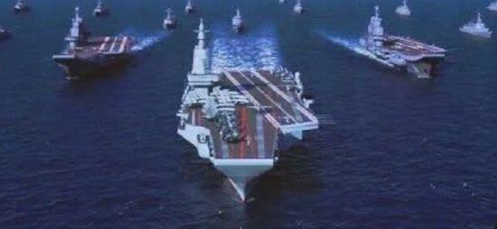 美媒:中国或已开工电磁弹射航母 技术与美比肩