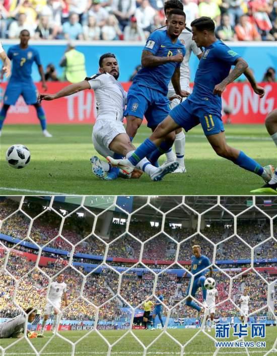 """(世界杯·专题)(7)足球——俄罗斯世界杯屡次上演""""绝处逢生"""""""