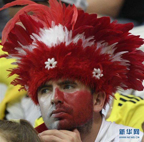 (世界杯)(7)足球――H组:哥伦比亚队胜波兰队