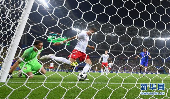 (世界杯)(18)足球――H组:哥伦比亚队胜波兰队