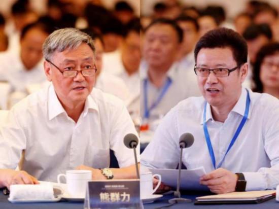 熊群力(左) 钱智民(右)