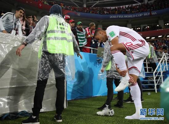 (世界杯)(17)足球――B组:西班牙队战平摩洛哥队
