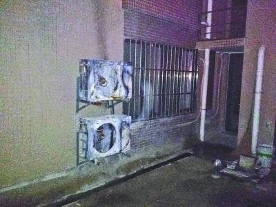 空调外机被高空抛下烟头引燃 业主起诉50多家住户