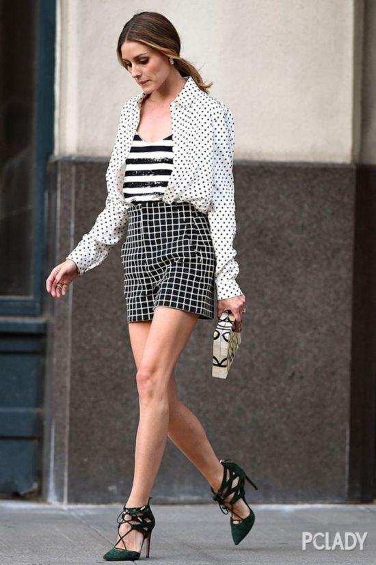 """时髦条纹大翻身,我居然想偷穿我妈的""""条纹衫"""""""