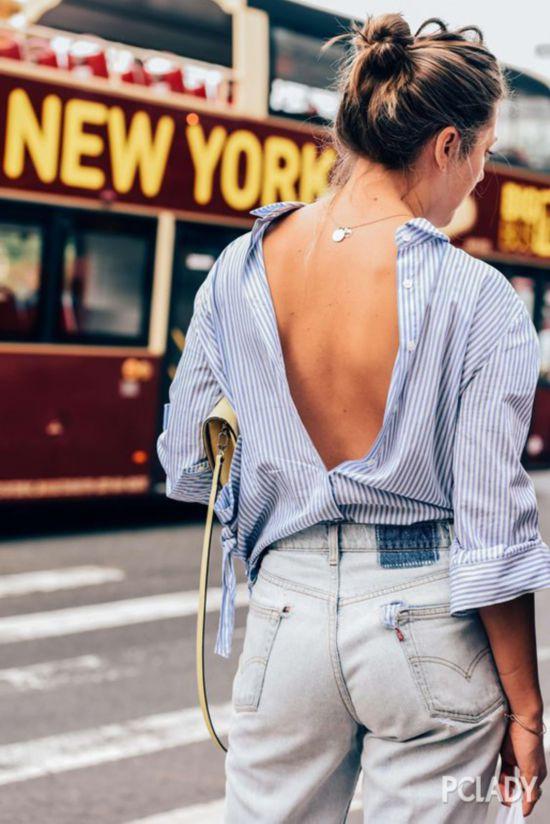 条纹衫怎么穿才能摆脱撞衫的尴尬?