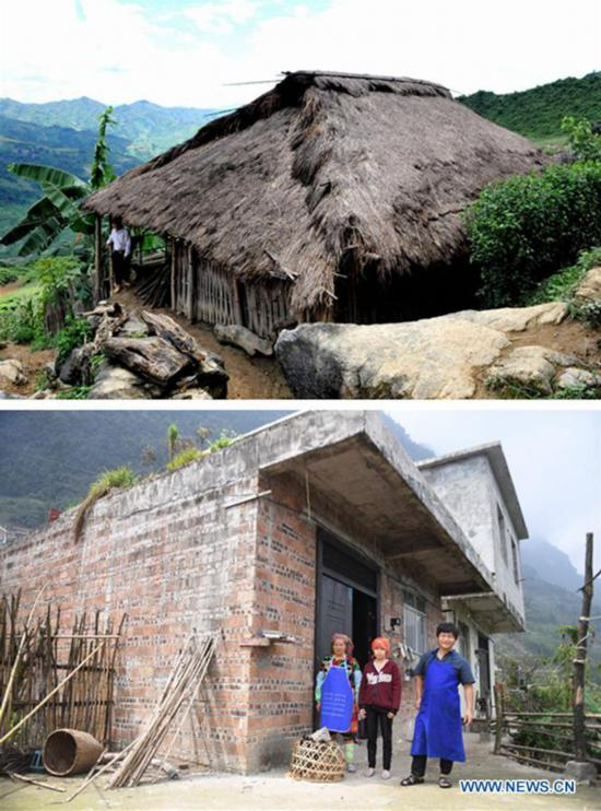 Living conditions greatly improved in China's Napo County