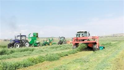 海原农业综合机械化程度大幅提升