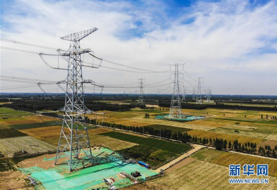 (经济)(2)雄安新区首个大型电网建设工程投入运营