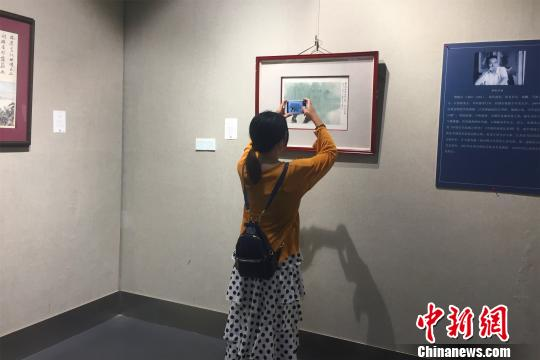 江西集中展出八大山人、傅抱石等历代名家书画作品(图)